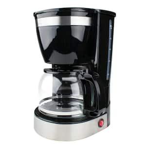 10-Cup Black Coffee Maker