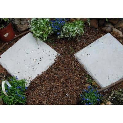 Lawn Stepping Stones in Stone (4-Pack)