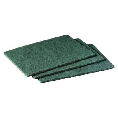 6 in. General Purpose Scouring Pad (10-Pack)