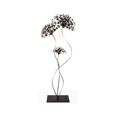 Dandelion's Dance Metal Sculpture Original Artwork