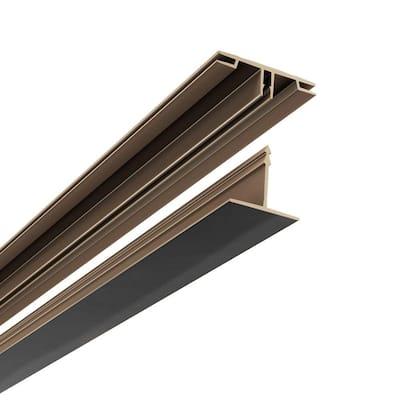 100 sq. ft. Ceiling Grid Kit Black