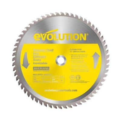 14 in. 90-Teeth Stainless-Steel Cutting Saw Blade