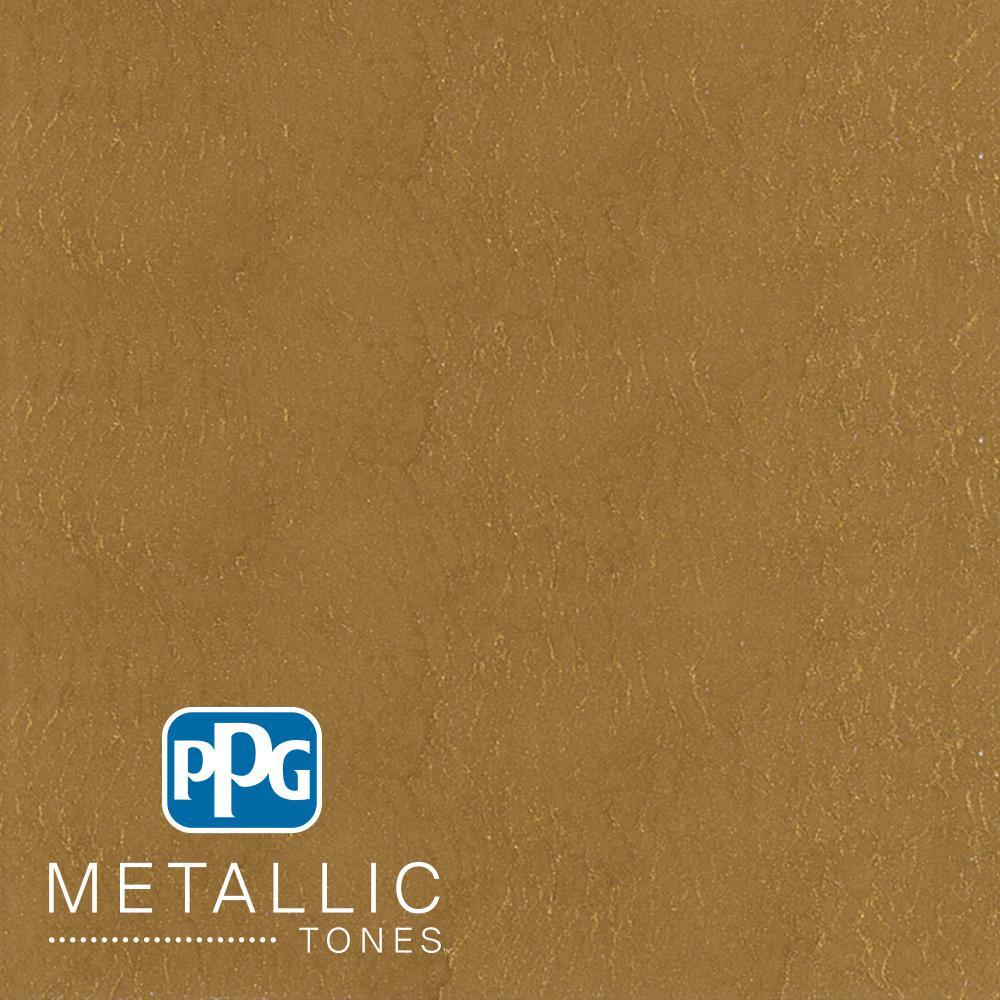 1  gal. #MTL136 Bronzed Ochre Metallic Interior Specialty Finish Paint
