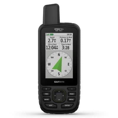 GPSMAP 66sr Multi-Band/GNSS Handheld with Sensors and TOPO Maps
