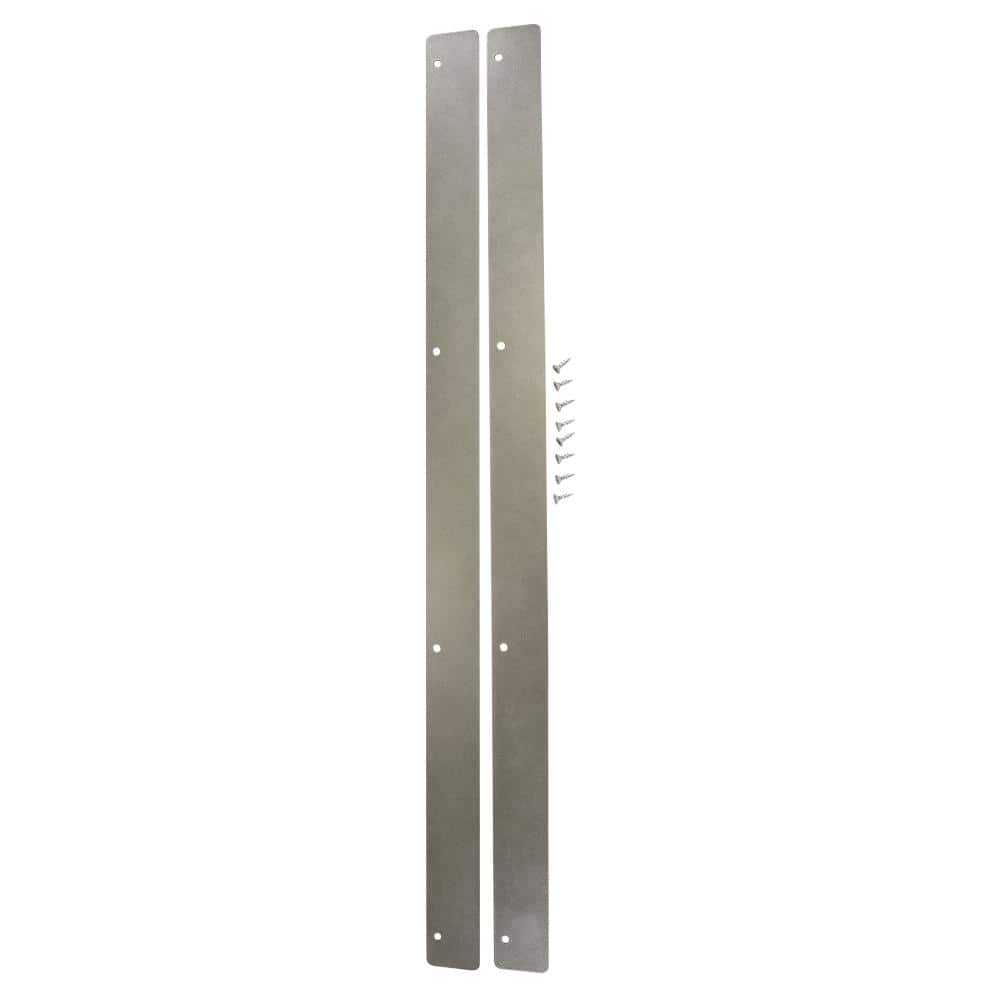 Hampton Bay Designer Series 0 0394x30 5x1 75 In Metal Heat Deflector Kit Akhd The Home Depot