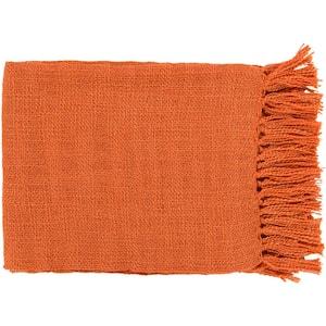Montevallo Burnt Orange Throw Blanket