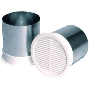 Micro Louver Eave Vent, Bathroom Fan Vent Cover Outside