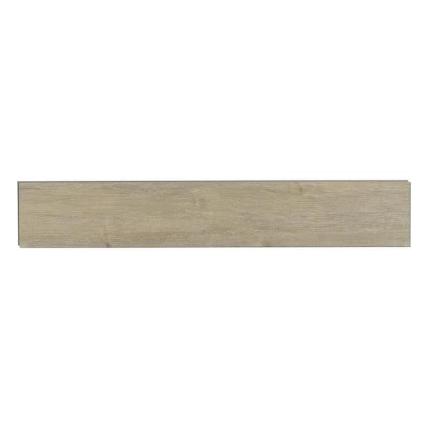 Trafficmaster French Oak 4 4 Mm T X 6 In W X 36 In L Rigid Core Luxury Vinyl Plank Flooring 23 95 Sf Case Vtrhdfreoak6x36 The Home Depot