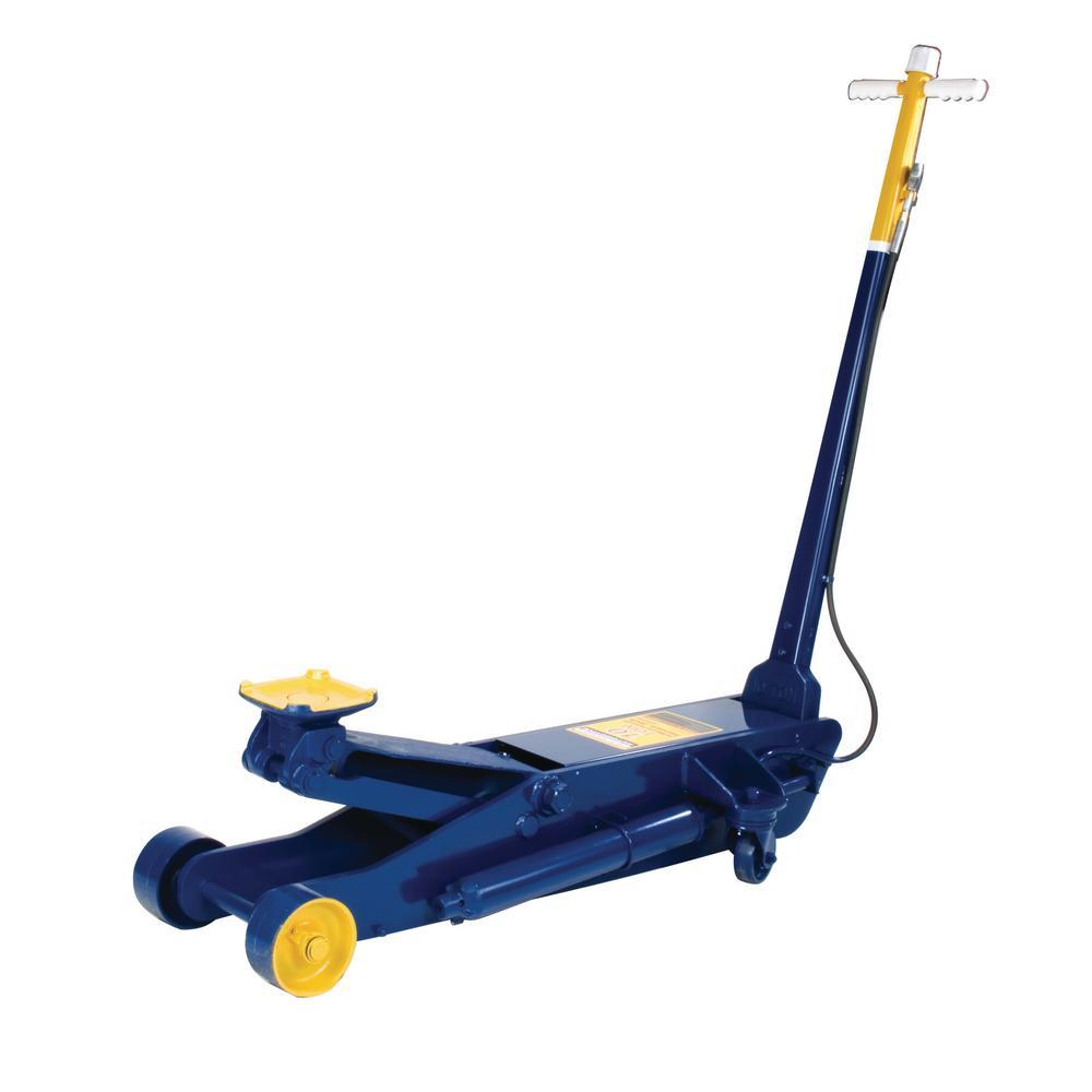 10-Ton Capacity Blue Air/Hydraulic Service Jack