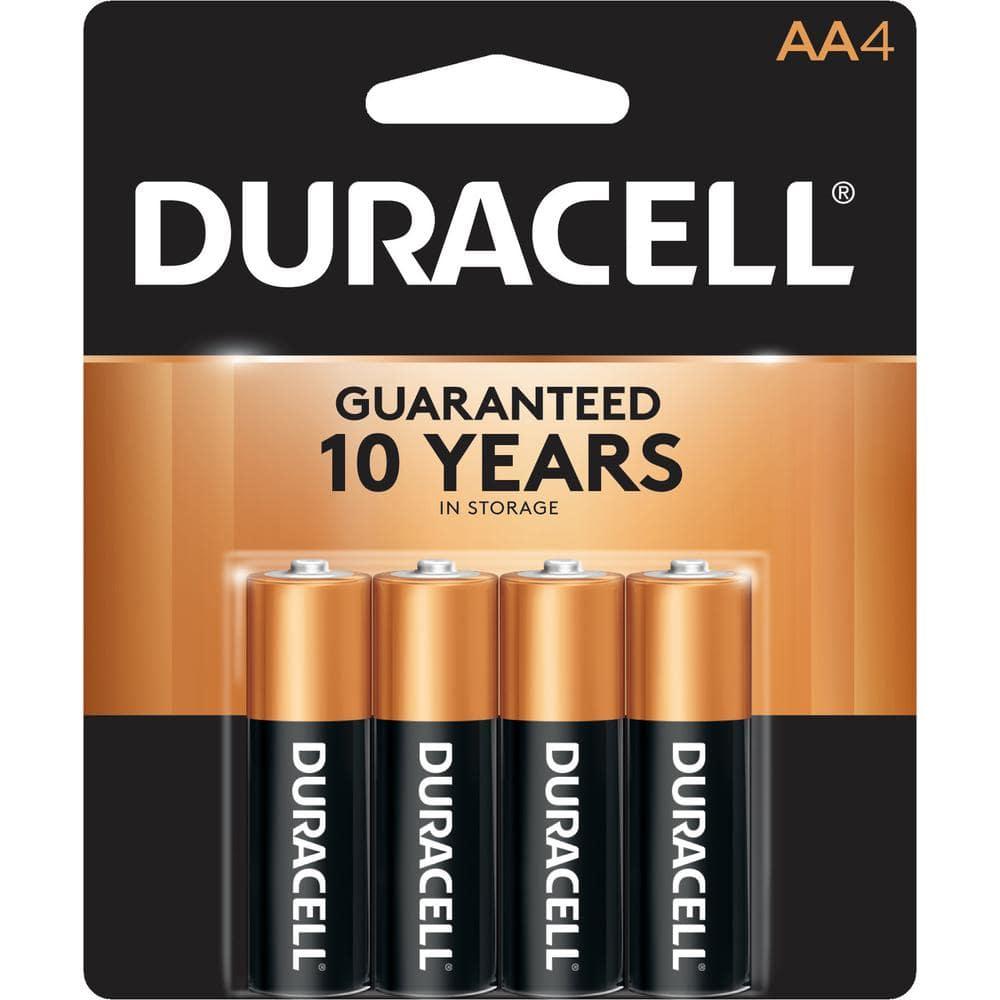 Duracell Coppertop AA Alkaline Battery (4-Pack)