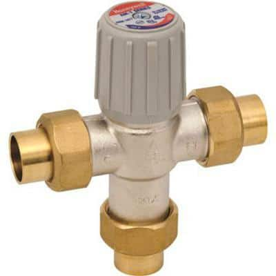 Lead-Free Water Heater Thermostatic Mixing Valve