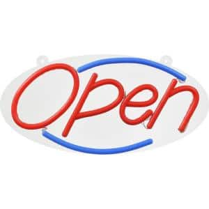 22 in. Large LED Open Sign