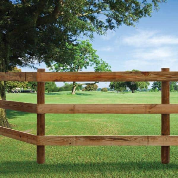 11 Folding Sections 3.5 Inches high,9 feet long Wooden Horse Corral Fence