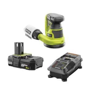 18-Volt ONE+ Cordless 5 in. Random Orbit Sander with 2.0 Ah Battery and Charger Kit
