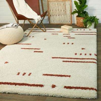 Orange Area Rugs Rugs The Home Depot