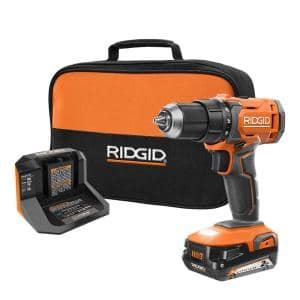18V Cordless 1/2 in. Drill/Driver Kit with (1) 2.0 Ah Battery and Charger