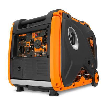 Super Quiet 4000-Watt Dual Fuel RV-Ready Portable Inverter Generator with Fuel Shut-Off