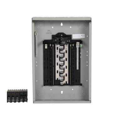 SN Series 100 Amp 20-Space 20-Circuit Main Breaker Plug-On Neutral Load Center Value Pack