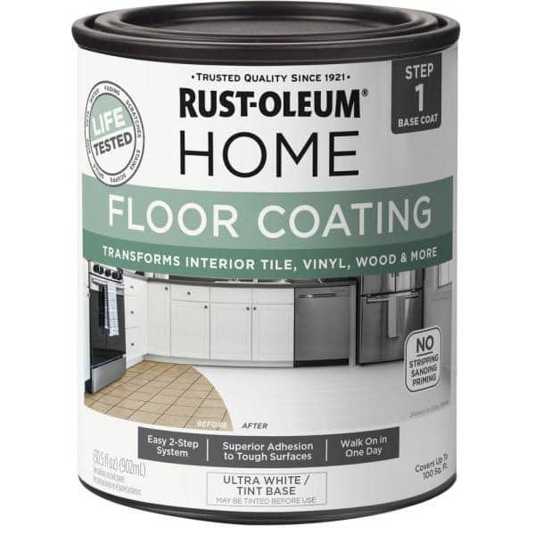Rust Oleum Home 1 Qt Ultra White