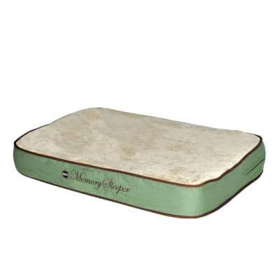 Memory Sleeper Large Sage Dog Bed