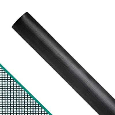 96 in. x 100 ft. Charcoal Fiberglass Pool and Patio Screen Roll