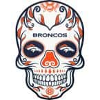 NFL Denver Broncos Outdoor Skull Graphic- Small