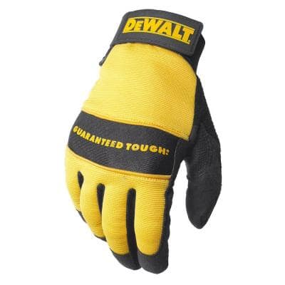 All Purpose Synthetic Leather Glove - Large