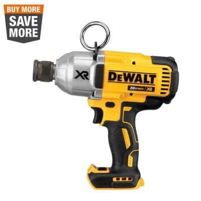 20-Volt MAX XR Cordless Brushless 7/16 in. High Torque Impact Wrench with Quick Release Chuck (Tool-Only)