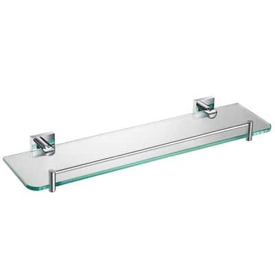 Ventus 20 in. Bathroom Shelf in Chrome