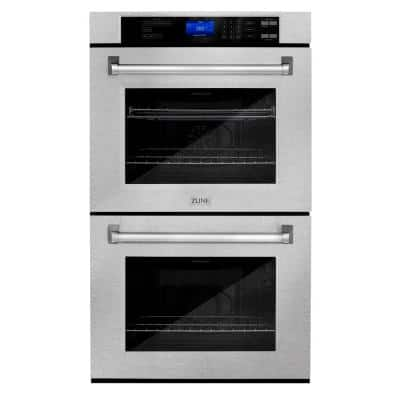 ZLINE 30 in. Professional Electric Double Wall Oven with Self Clean in DuraSnow Stainless Steel