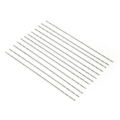 #4 Spiral Pinless Scroll Saw Blades, 12-Pack