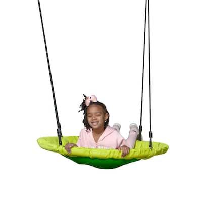 Kids Saucer Swing- Green
