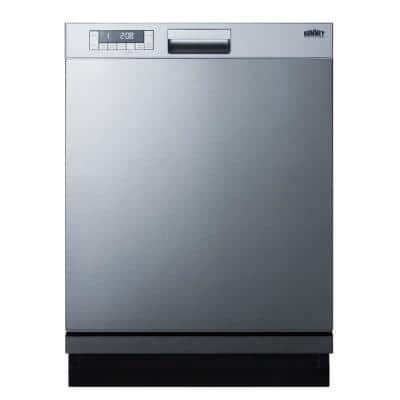 24 in. Stainless Steel Front Control Dishwasher