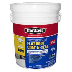 5 Gal. Flat Roof Coat-n-Seal Liquid Rubber Coating
