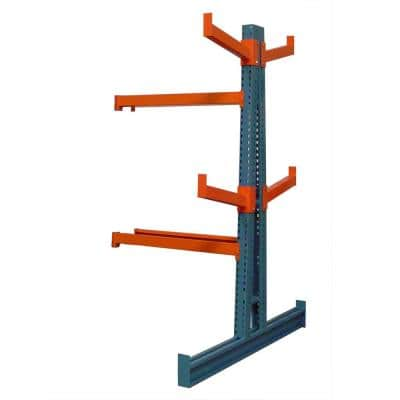 48 in. x 12 in. Double Sided Medium Duty Cantilever Add-on Unit