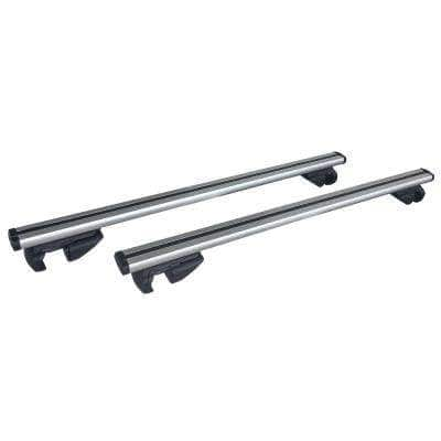 47 in. Universal Aluminum Roof Bars for Small SUVs (Set of 2)