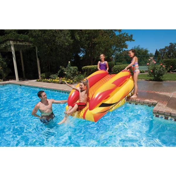 Poolmaster Aqua Launch Swimming Pool Slide 86233 The Home Depot