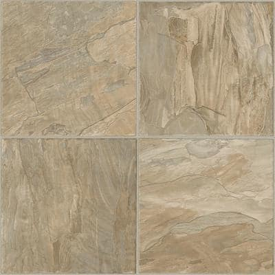 FlexStep Value Plus Coral Stone Sand Residential Vinyl Sheet Flooring 12 ft. Wide x Cut to Length