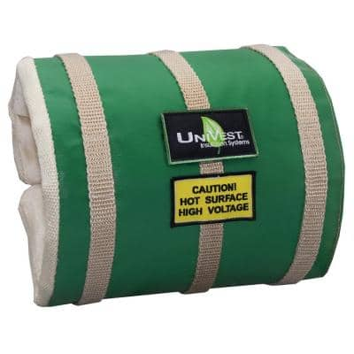 UniVest Insulation Jacket High Temperature 50 in. L x 14 in. W x 1 in. H Insulation Wrap - R 0.48