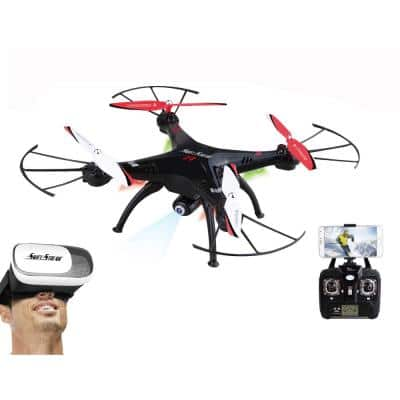 RC Z-9VR Wi-Fi Camera Drone with Virtual Reality Goggles