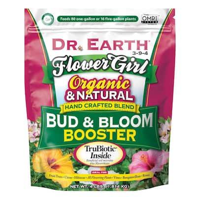 4 lbs. Organic Flower Girl Bud and Bloom Fertilizer