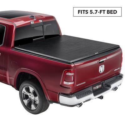 TruXport Tonneau Cover - 09-18 (19 Classic) Ram 5 ft. 7 in. Bed without RamBox