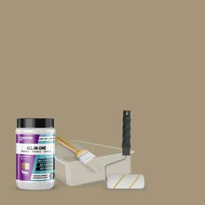 1 qt. Linen Furniture Cabinets Countertops and More Multi-Surface All-in-One Interior/Exterior Refinishing Kit