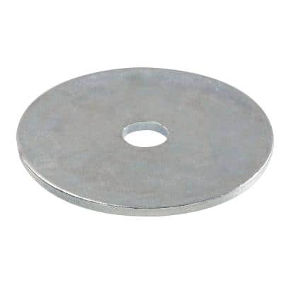 3/8 in. x 1-1/2 in. Zinc Plated Fender Washer (100-Pieces)