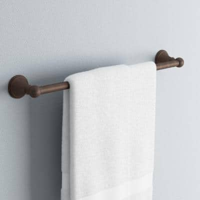 Crestfield 24 in. Towel Bar in Venetian Bronze