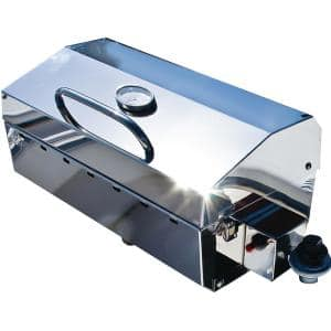 Portable Propane Gas Stow N Go 160 Grill with Thermometer and Igniter