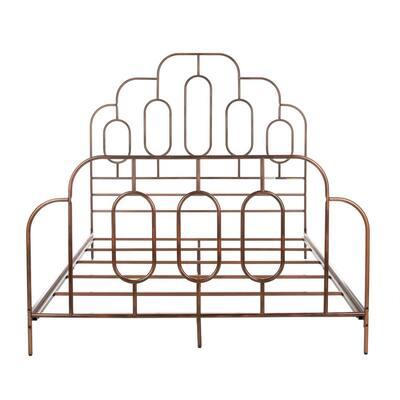 Paloma Metal Retro Antique Bronze Full Bed