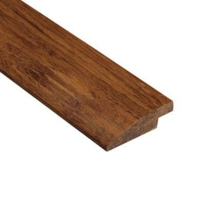 Strand Woven Saddle 9/16 in. Thick x 2 in. Wide x 78 in. Length Bamboo Hard Surface Reducer Molding