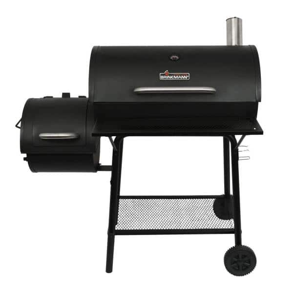 Brinkmann Charcoal Grill And Off Set Smoker 810 3015 S The Home Depot