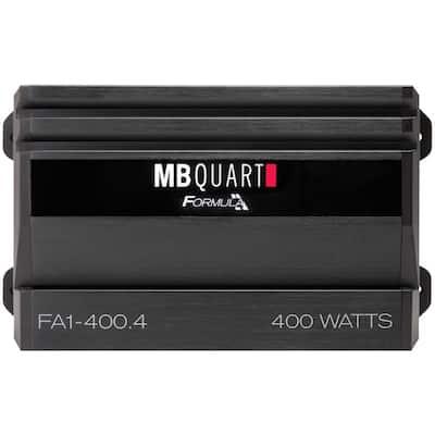 400-Watt 4-Channel Class AB Amplifier